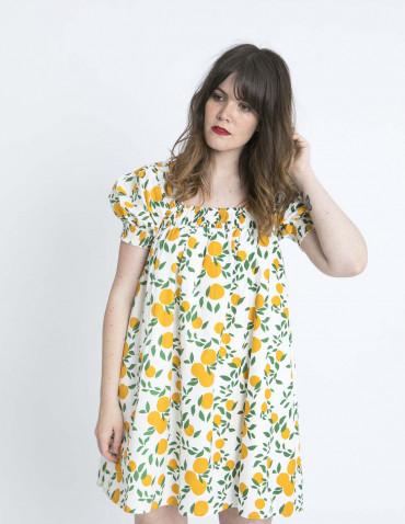 vestido babydoll naranjas compañia fantastica zaragoza sommes demode