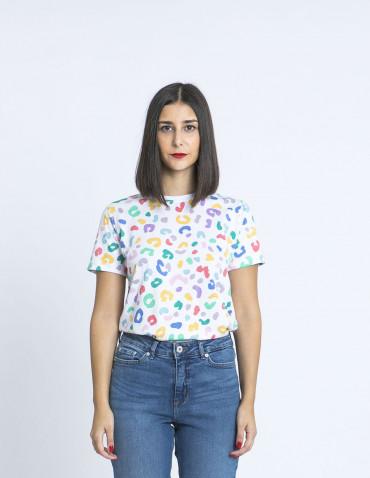 camiseta maggie animal print sugarhill brighton zaragoza sommes demode