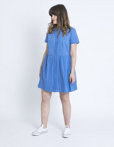 vestido keeley azul bordados sugarhill brighton sommes demode
