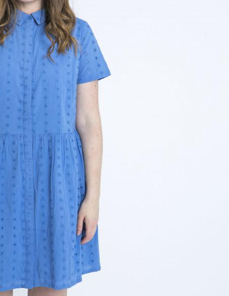 vestido keeley azul bordados sugarhill brighton sommes demode