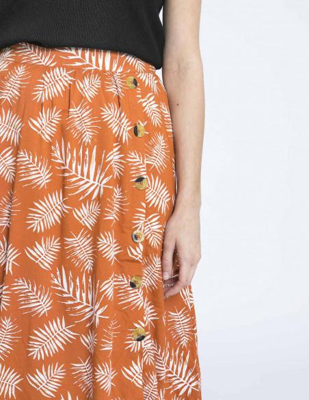 falda hojas cruz blend she sommes demode zaragoza