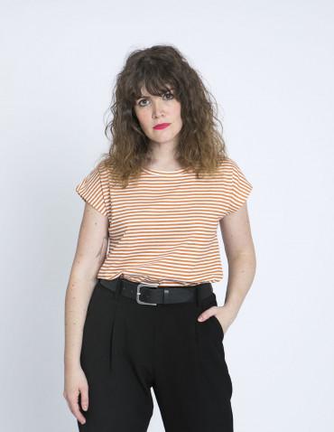 camiseta rayas caramelo compañia fantastica sommes demode zaragoza
