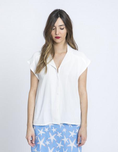 camisa estilo pijama blanco compañia fantastica zaragoza sommes demode