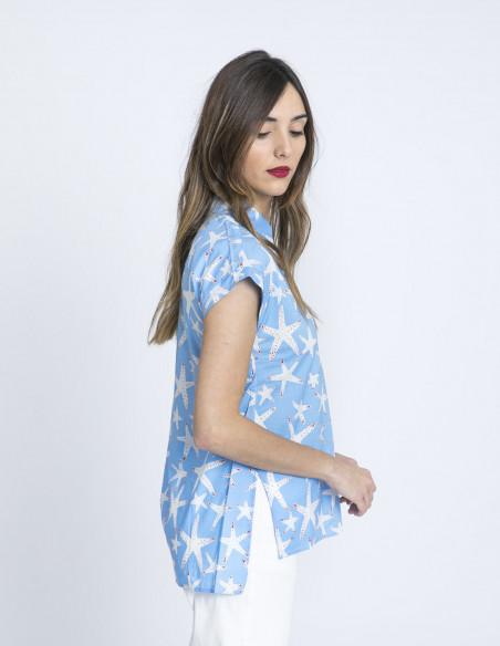 camisa estrellas de mar compañia fantastica sommes demode online