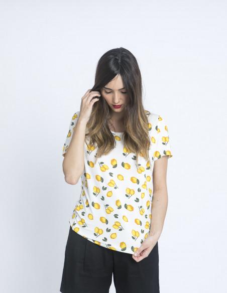 camiseta limones rissi ichi sommes demode