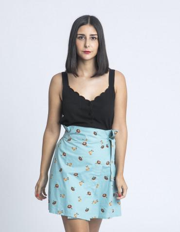 falda corta azul nadadoras compañia fantastica sommes demode