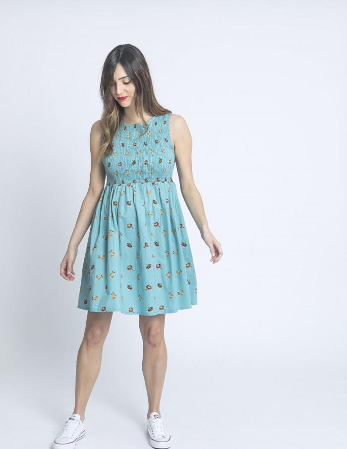 vestido corto azul nadadoras compañia fantastica sommes demode