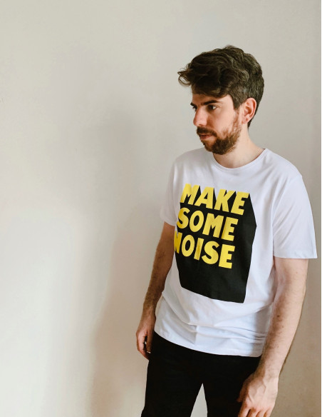 camiseta chico noise solid sommes demode