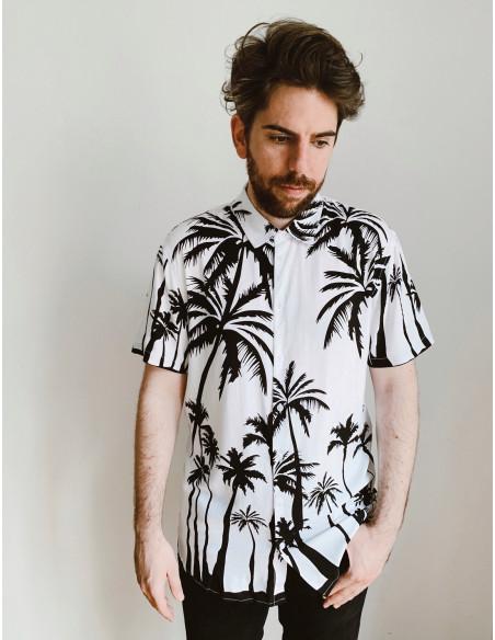 camisa chico palmeras blend sommes demode
