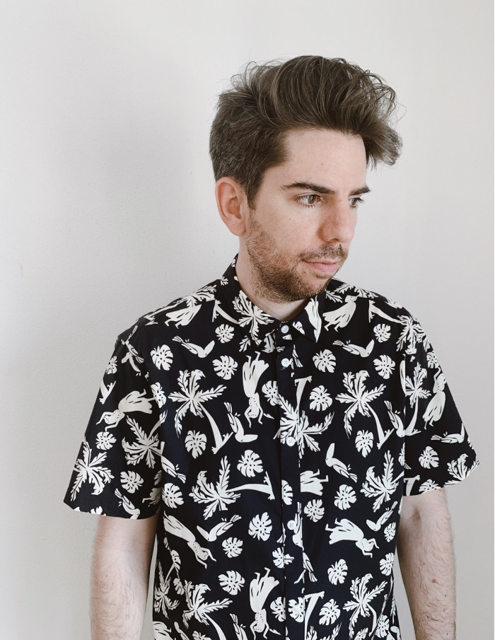 camisa hawaiana tailored originals sommes demode