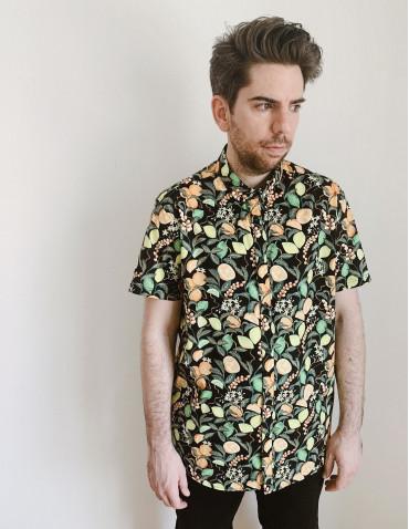 camisa frutas solid sommes demode