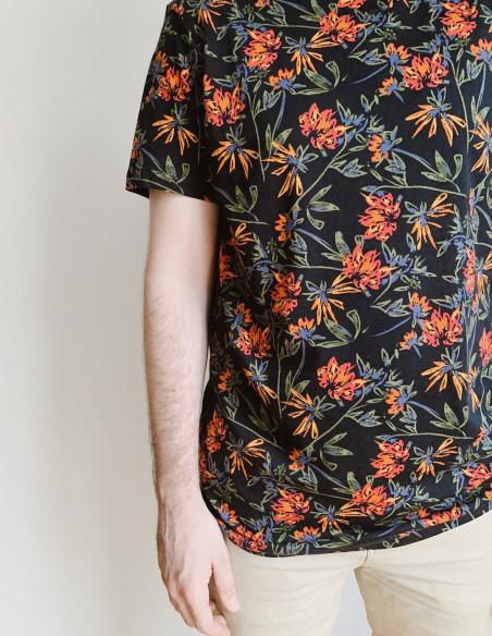 camiseta flores blend sommes demode