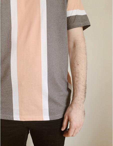 camiseta rayas jack solid sommes demode