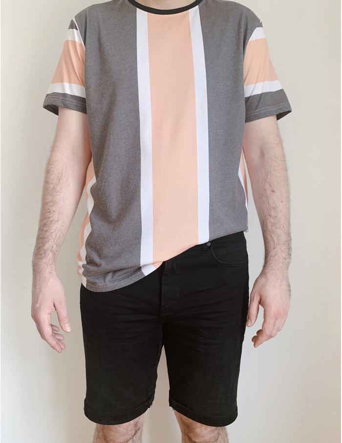 jeans regular corto negro solid sommes demode