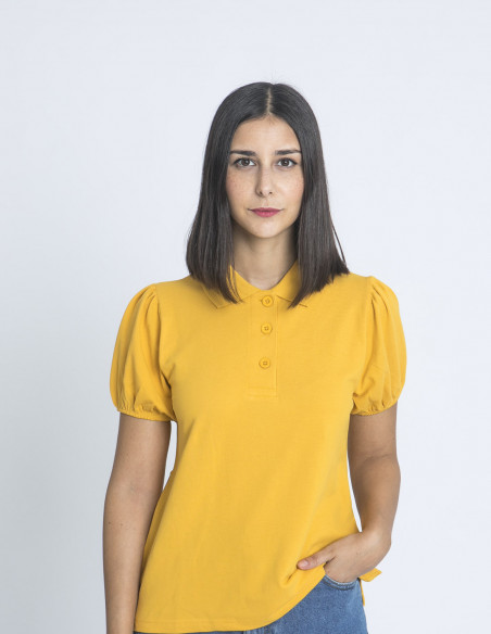 polo liso amarillo compañia fantastica sommes demode