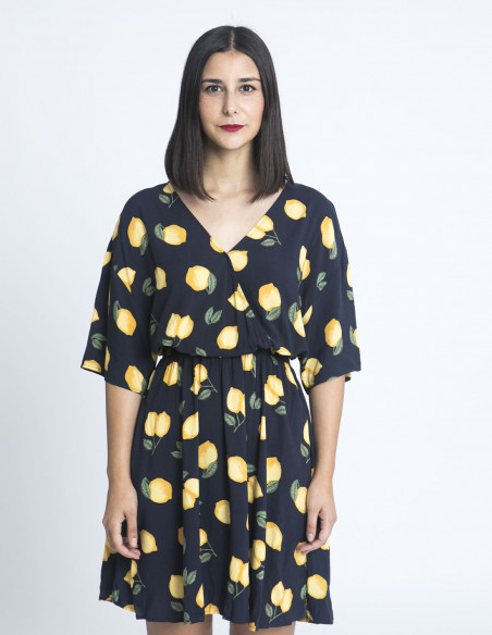 vestido limones ichi sommes demode