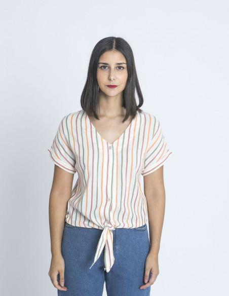 camisa rayas veronique blend she sommes demode