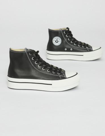 zapatillas victoria basket negro