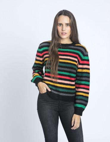 jersey rayas multicolor timor compañia fanstastica sommes demode