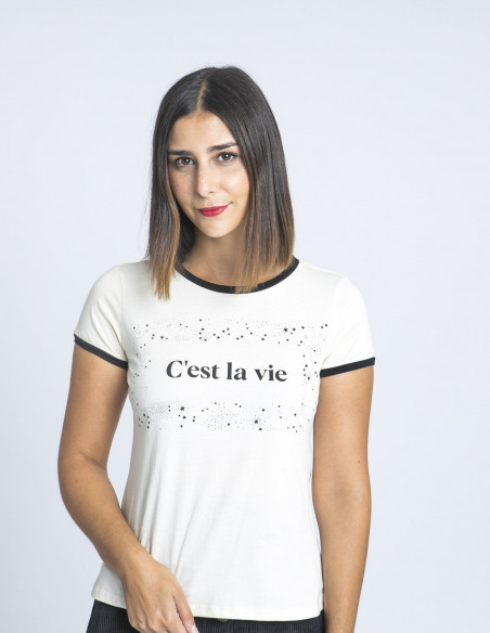 Camiseta Cest La Vie Maggie Sweet Sommes Demode Zaragoza