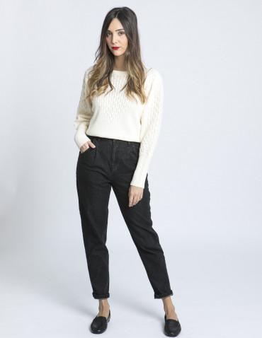 jeans slouchy domu black wash blend she sommes demode zaragoza