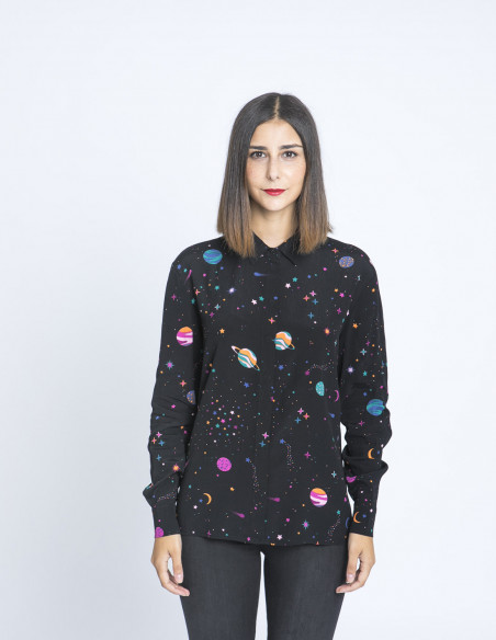 Camisa Joy Cyber Candy Sugarhill Sommes Demode