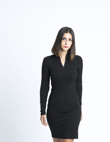 vestido elly black dr denim sommes demode zaragoza