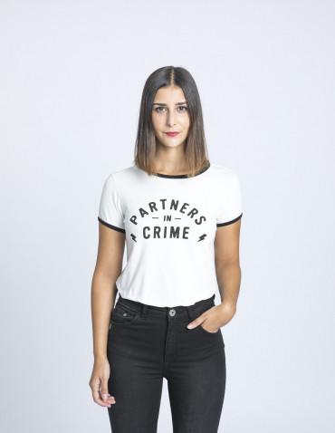 camiseta partners in crime maggie sweet sommes demode zaragoza