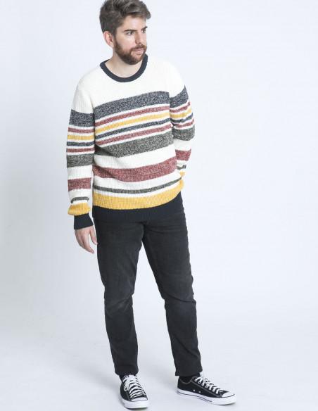 jersey rayas lew multicolor solid sommes demode zaragoza