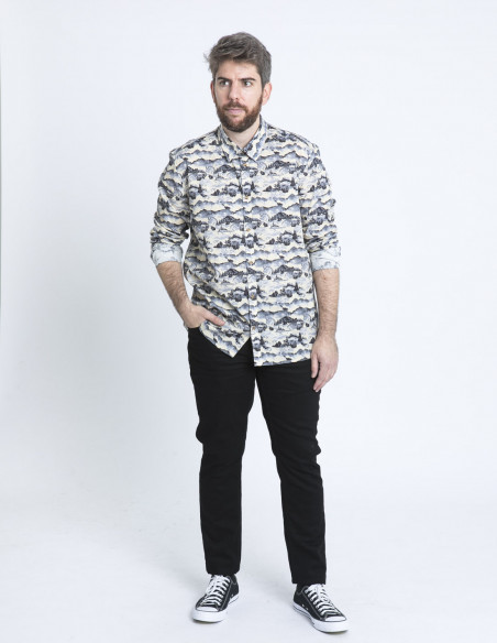 camisa paisaje rafi tailored originals sommes demode zaragoza