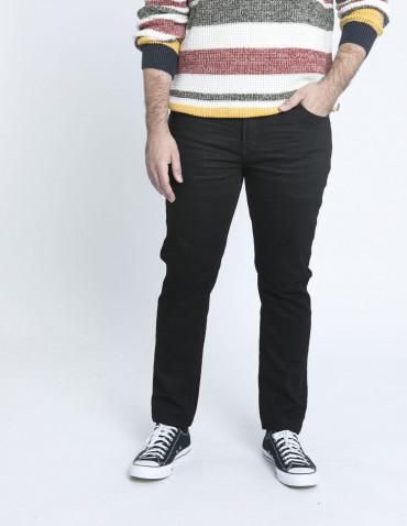 jeans slim joy black solid sommes demode zaragoza
