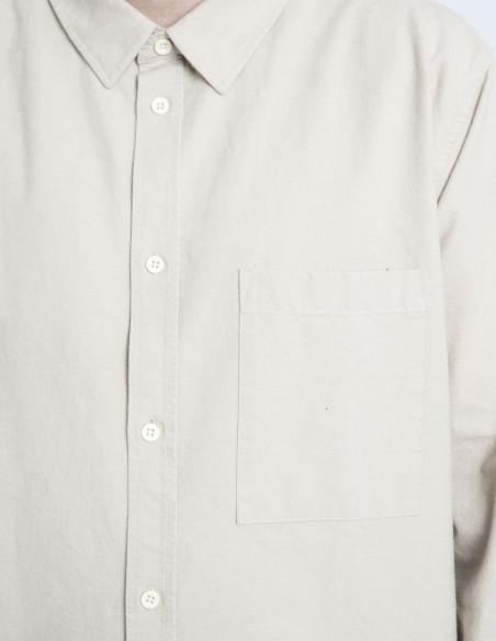 camisa beige dale dr denim sommes demode zaragoza