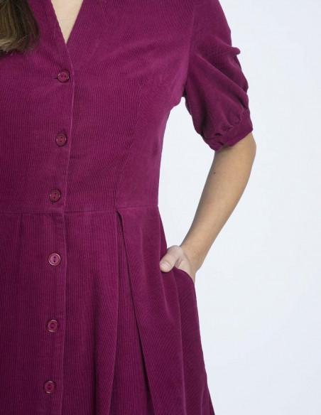 vestido stella boysenberry emily and fin sommes demode zaragoza