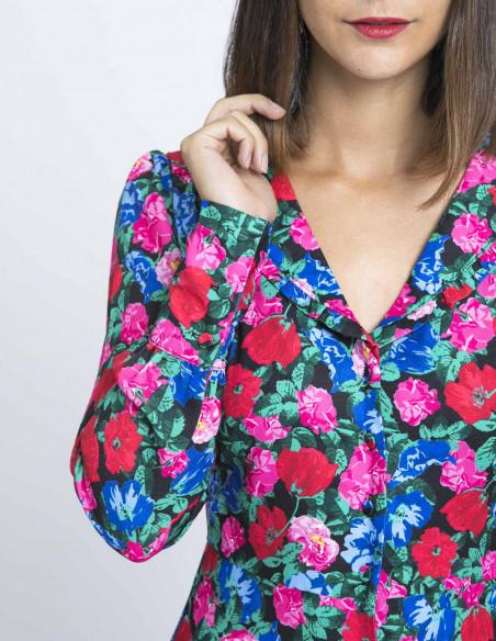 vestido corto flores kling sommes demode zaragoza