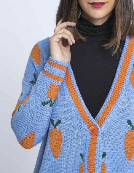 cardigan oversize zanahorias kling sommes demode zaragoza