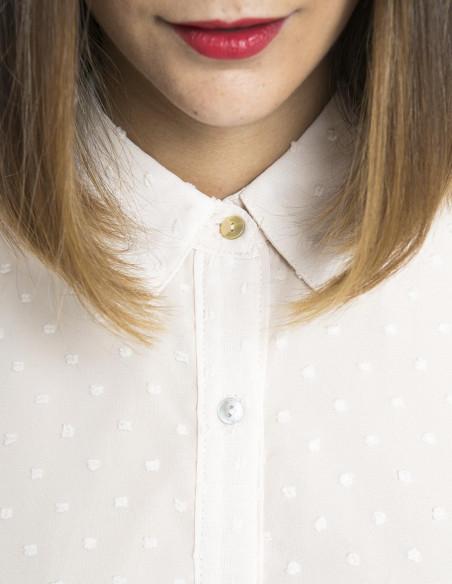 blusa plumeti manga abullonada meisie sommes demode zaragoza