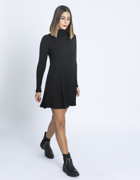 vestido teresa negro maggie sweet sommes demode zaragoza