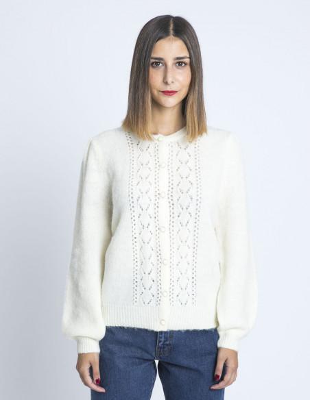 cardigan bruno blanco grace and mila sommes demode zaragoza