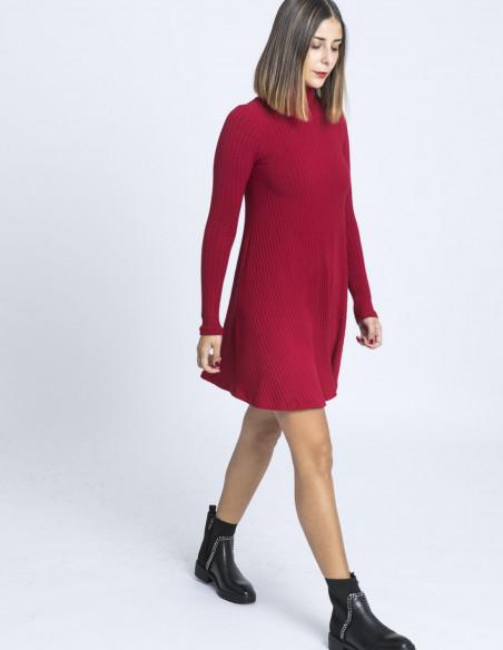 vestido teresa rojo maggie sweet sommes demode zaragoza