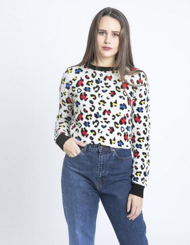 jersey algodon leopardo multicolor kling sommes demode zaragoza