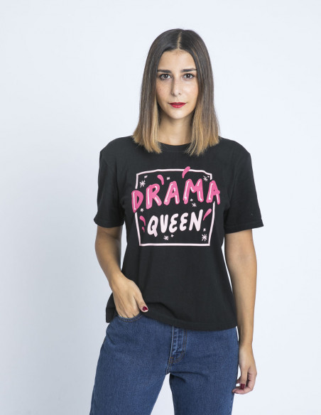 camiseta drama queen sommes demode zaragoza