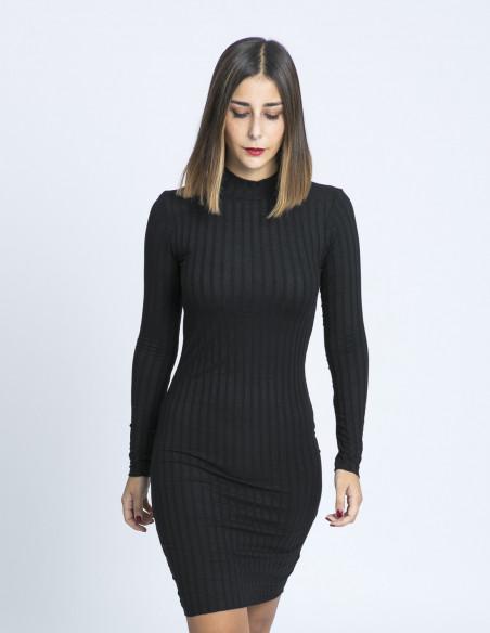 vestido negro canale eloha desires sommes demode zaragoza