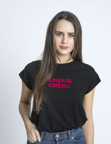 camiseta amour cherie grace and mila sommes demode zaragoza