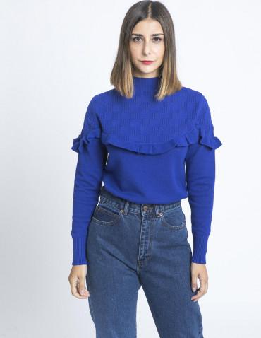 jersey azul volante kling sommes demode zaragoza