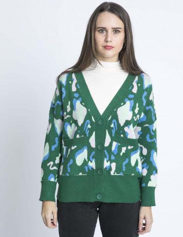 chaqueta multicolor kling sommes demode zaragoza