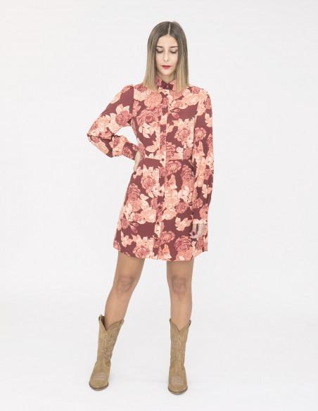 vestido corto apricote rose glamorous sommes demode zaragoza