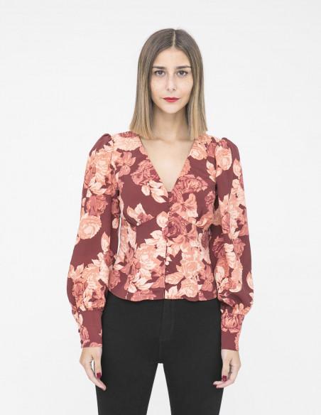 blusa corto apricote rose glamorous sommes demode zaragoza