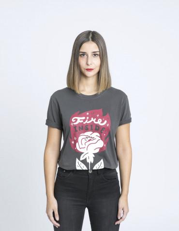 camiseta fire inside sommes demode jesana motilva