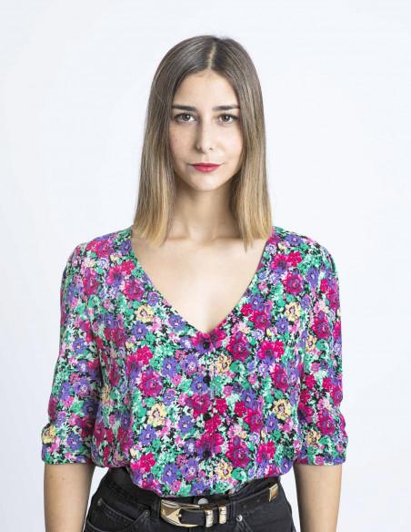 blusa flores chouchou grace and mila sommes demode zaragoza