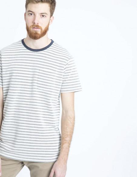 camiseta rayas pete solid sommes demode zaragoza